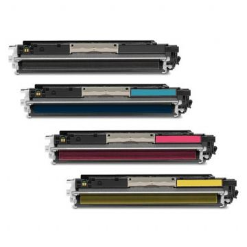 HP 126A B/C/M/Y Refurbished Toner Pack - ce310/311/312/313a